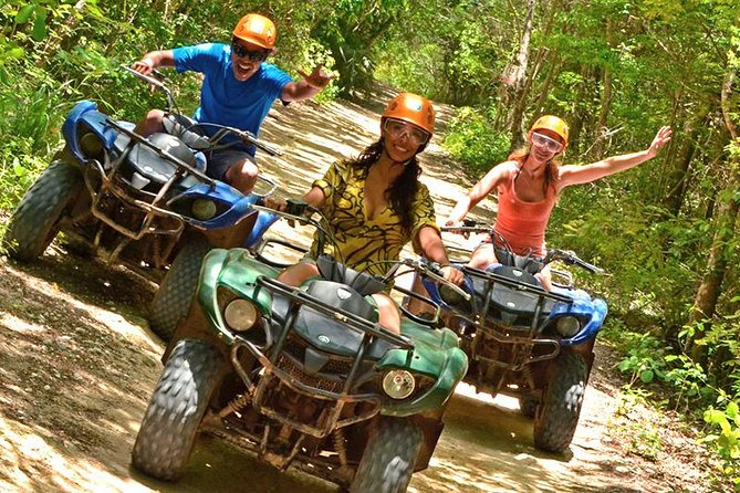 ATV, Zipline, Optional Monkeys/Sloths/Macaws Visit & West Bay Beach Resort
