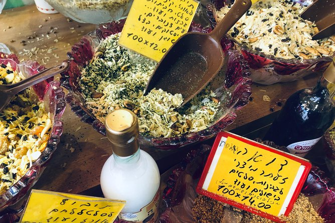 Three Hours Food tour Levinski Market TLV- Spices from Heaven photo 21