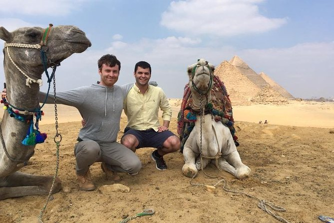 Giza pyramids , sphinx , sound and light show at night private tour