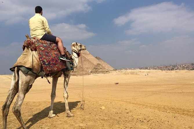 Cairo Layover to Giza Pyramids, Cairo Museum, Bazaars