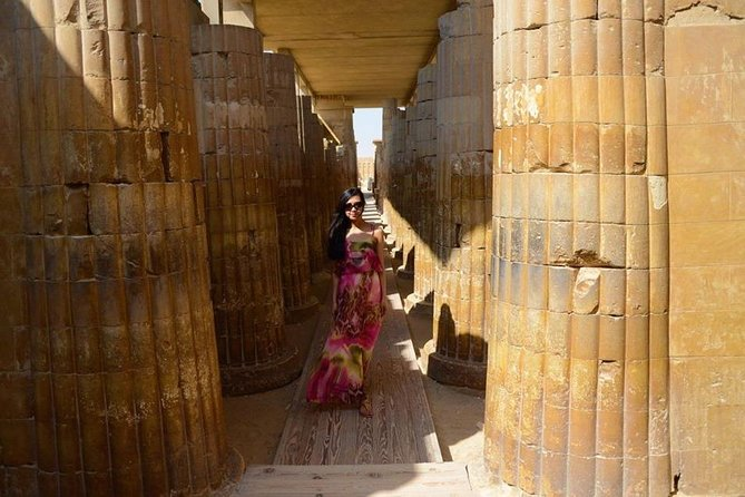 Private Tours to explore Giza Pyramids - Sakkara -Memphis photo 5