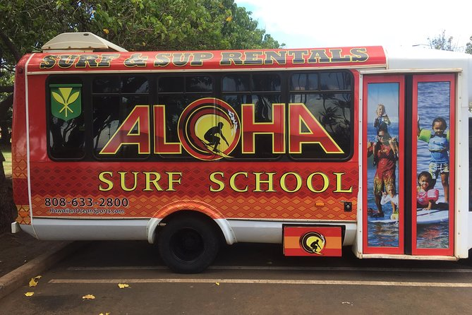 Surf with ALOHA SURF SCHOOL photo 7
