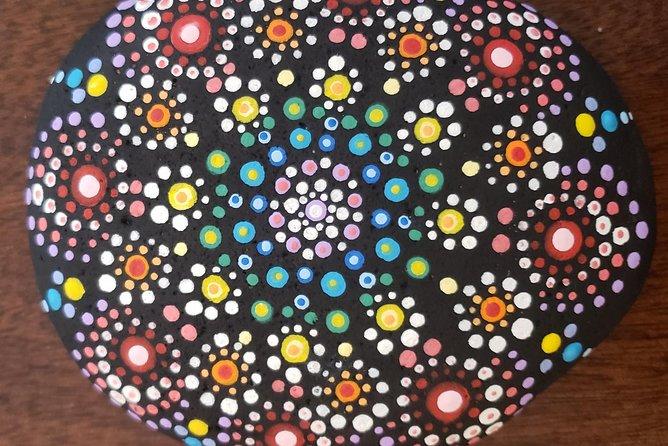 Lakeside Rock Mandala Painting Experience
