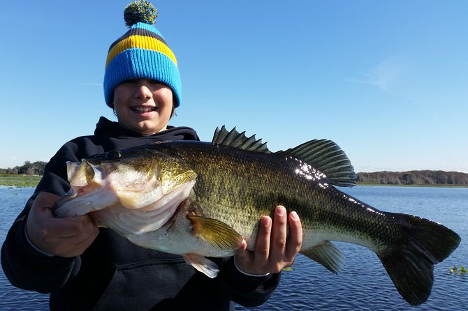 Orlando Bass Fishing Guide near Disney