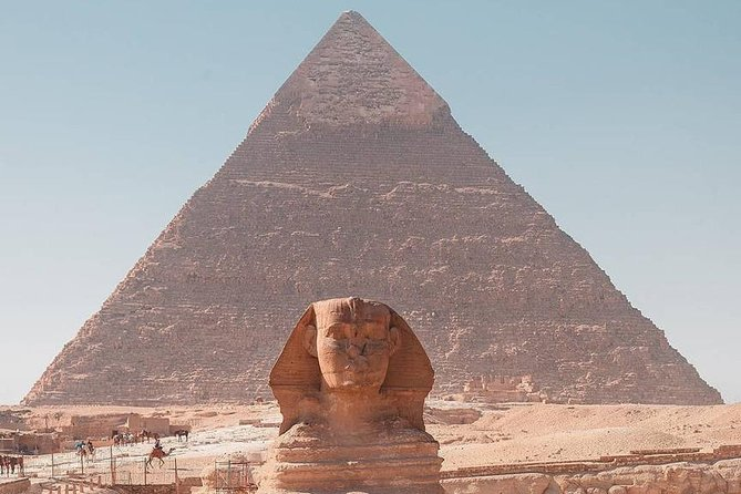 Cairo Over day Trip (Pyramids & Sphinx & Egyptian Museum) from Hurghada
