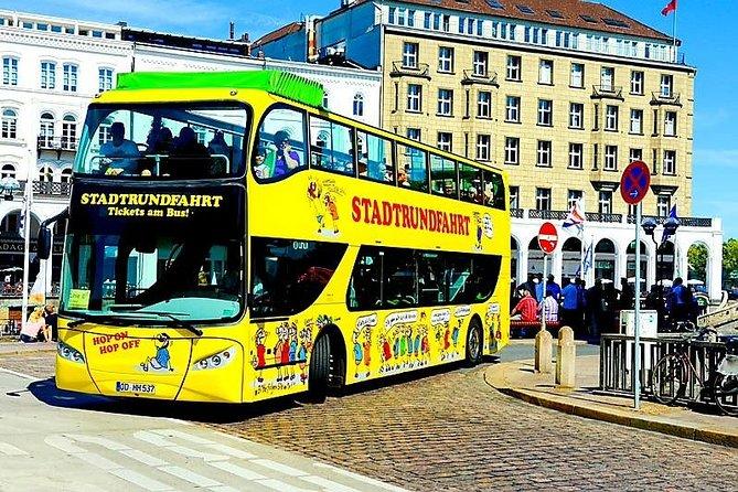 Hamburg: Hop-On Hop-Off Tour - Yellow Double Decker