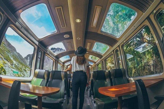 Machu Picchu Day Trip on VISTADOME Train