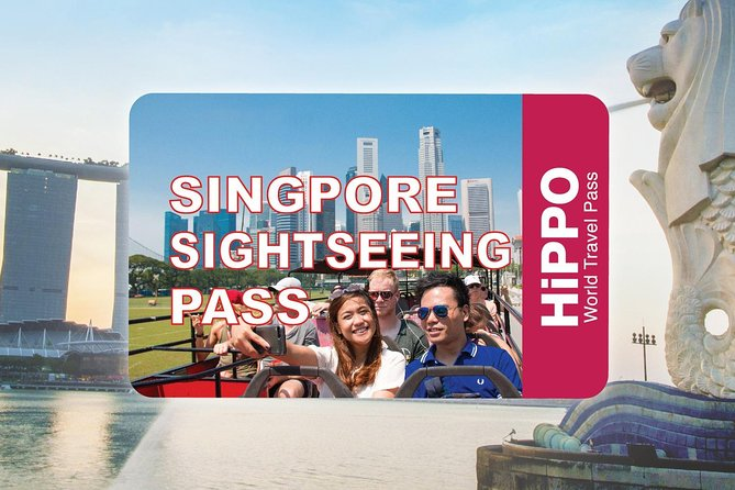 The Singapore Sightseeing Pass w/ Hop-on Hop-off & Entry to over 40 Attractions