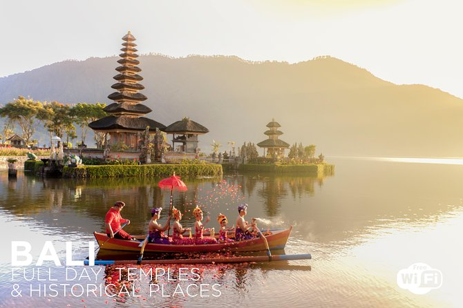 Bali Full Day Temples and Historical Places - Free WiFi & Lunch