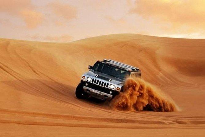HUMMER Desert Safari Dubai | Camel Ride | Barbeque Dinner in Desert