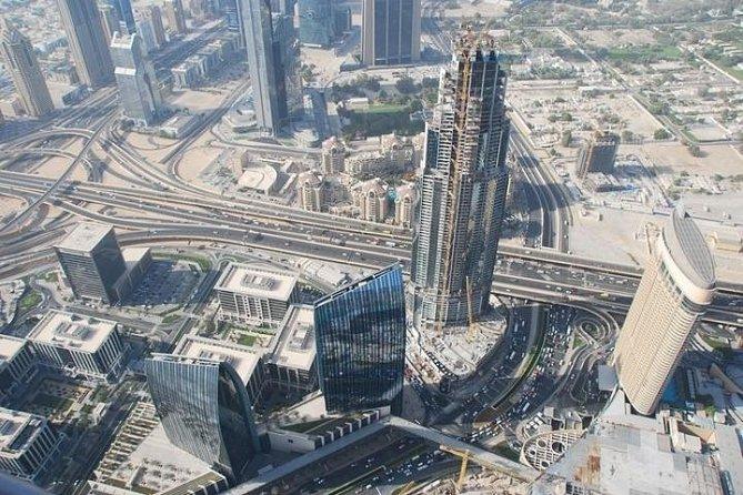 Full Day Dubai City Tour with Burj Khalifa Ticket 'At the Top'