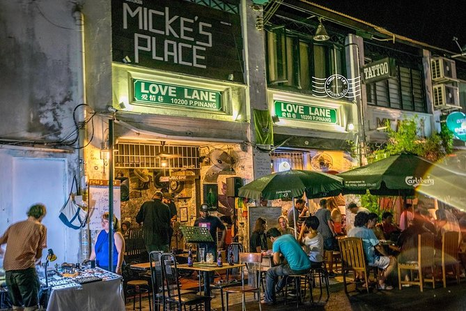 Penang Food, Hidden Bar and Nightlife Tour