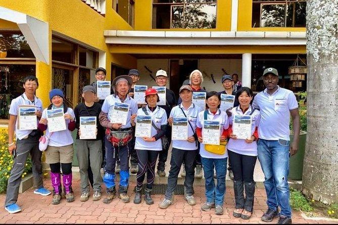 7 Days Kilimanjaro Climb Via Shira Route