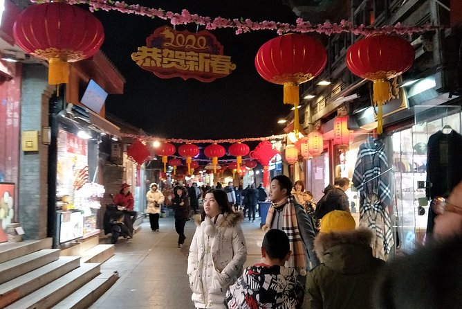 Night life Tour of Beijing ancient downtown
