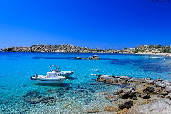 Explore the beautifull beaches of mykonos in a Private Tour
