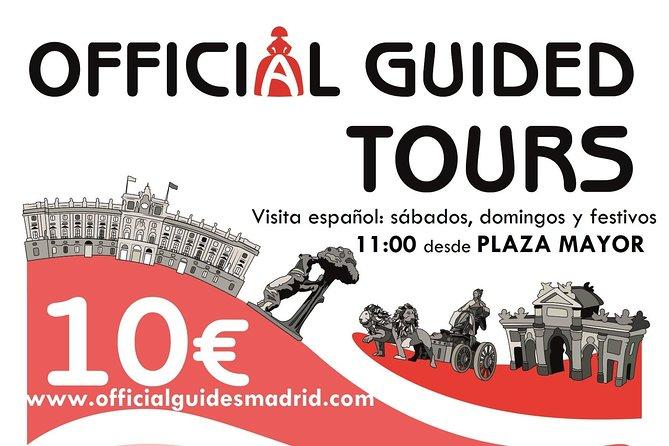 Paseo a pie Madrid de los Austrias con guía oficial 10€. Guía en español