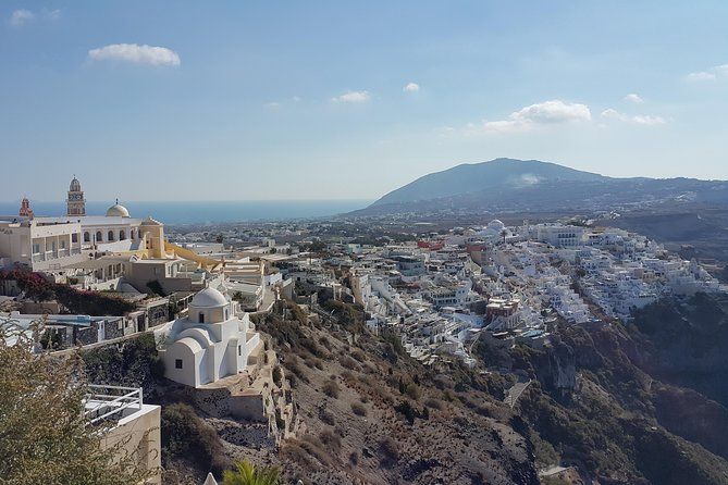 Panoramic Views Santorini Private Tour with Minimum Walking