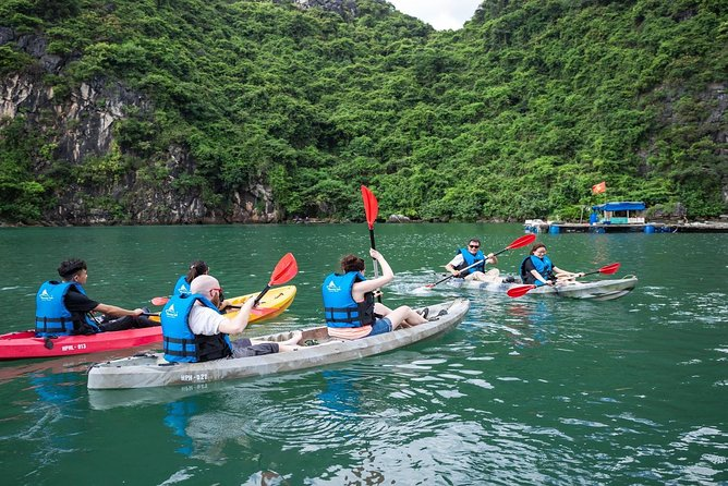 Halong Day Tour Full Day: Cruise, Kayak, Cave, Lunch... EXPRESSWAY TRANSFER