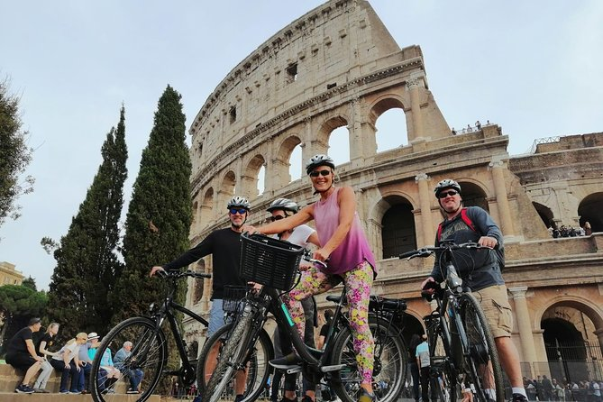 Rome: City Sights Highlight Private Bike Tour