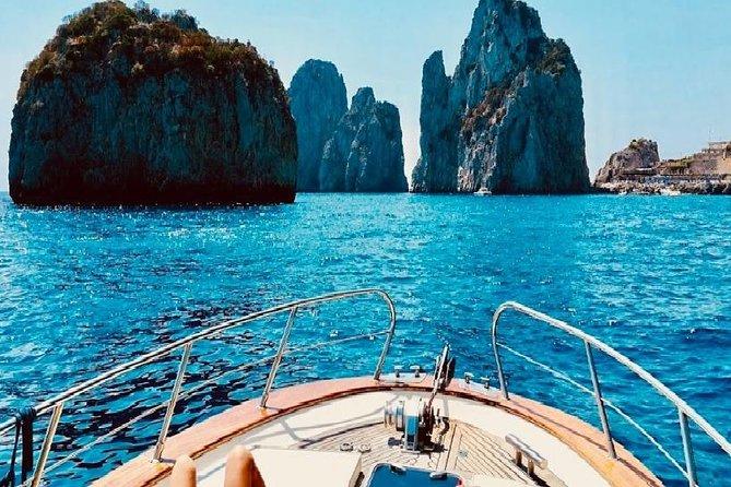 Capri Boat Tour and pick up