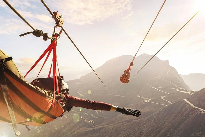 Zip Line Jebel Jais: World Longest Zip Line Dubai