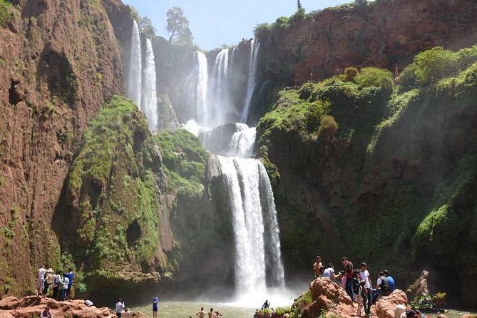 Day trip to ouzoud waterfalls from marrakech