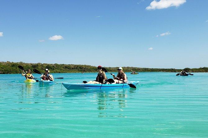 Bacalar Seven Color Lagoon & Kayak Adventure from Costa Maya