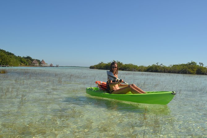 Bacalar Seven Color Lagoon & Kayak Adventure from Costa Maya photo 6