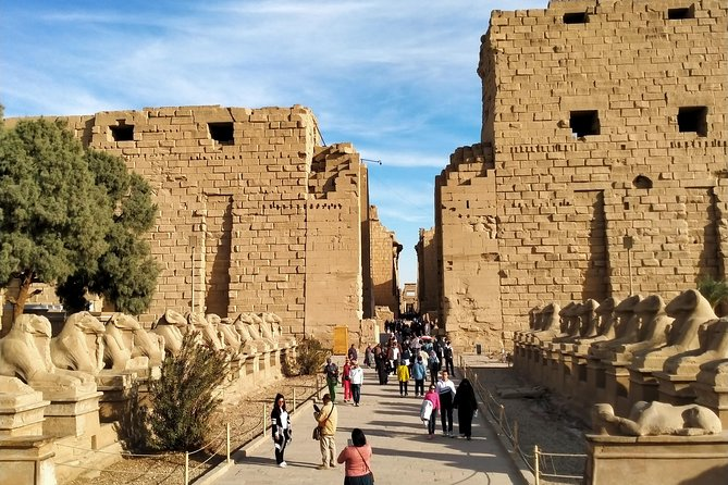 Day tour Luxor east and west banks