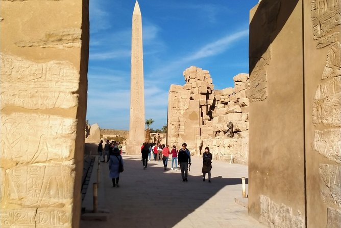 East Bank Luxor Karnak and Luxor temples