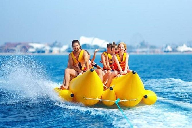 One day trip to Sharm El Sheikh (Banana Boat – Parachute – Butterfly)