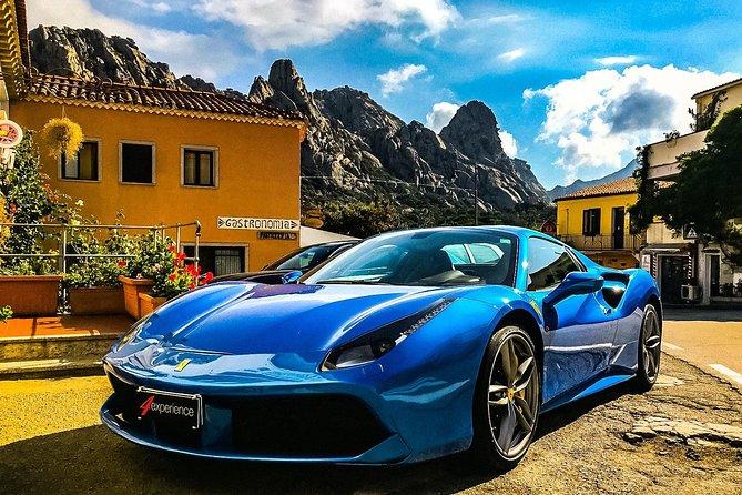 A tour around Porto Cervo Sardinia with supercars (Ferrari & Lamborghini)