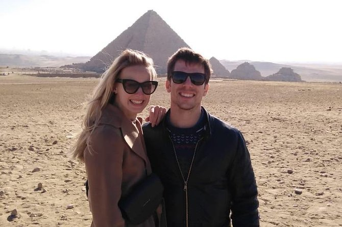 Day-Trip to Giza Pyramids and Sphinx with Entrance Fees Included