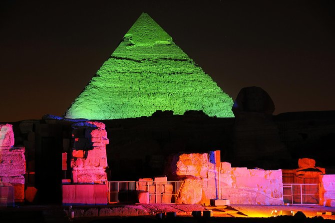 Night Tour to Sound and Light Show at Pyramids