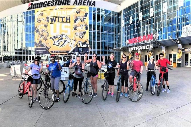 Guided Bicycle Tour of Downtown Nashville & Neighborhoods