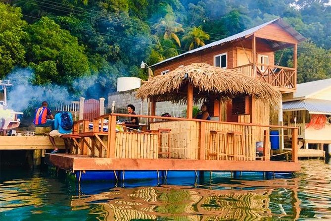 East End Private Floating Tiki Bar Getaway plus Transportation