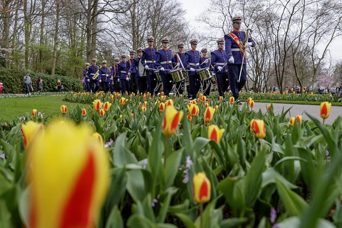 Lxry Private Transfer from The Hague to the Flowerfields in Lisse (incl.tickets)