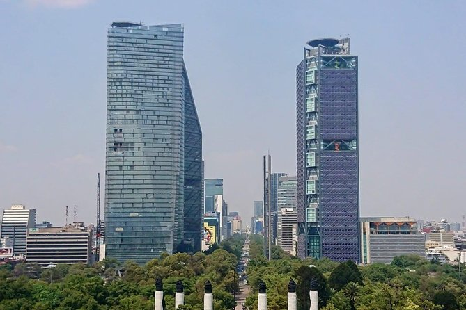 Chapultepec Forest and Downtown walking tour.