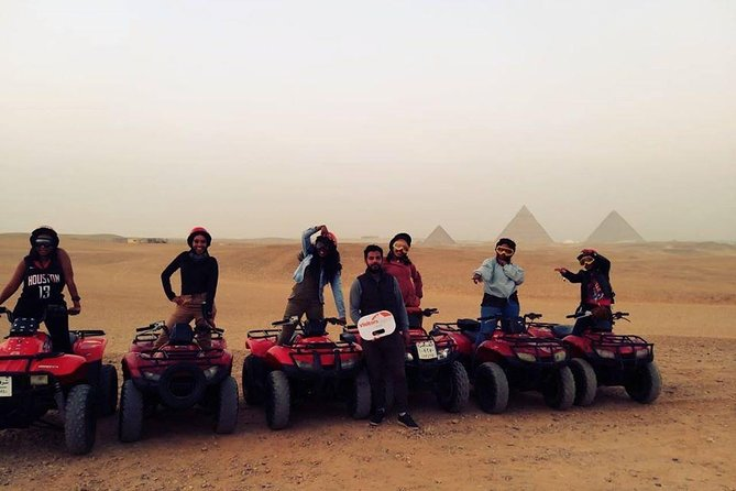 Drive a Quad Bike Around the Pyramids of Giza