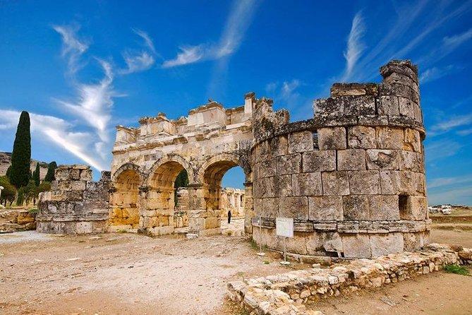 Pamukkale & Hierapolis Tour from Hotels in Pamukkale-Karahayit or Cardak Airport