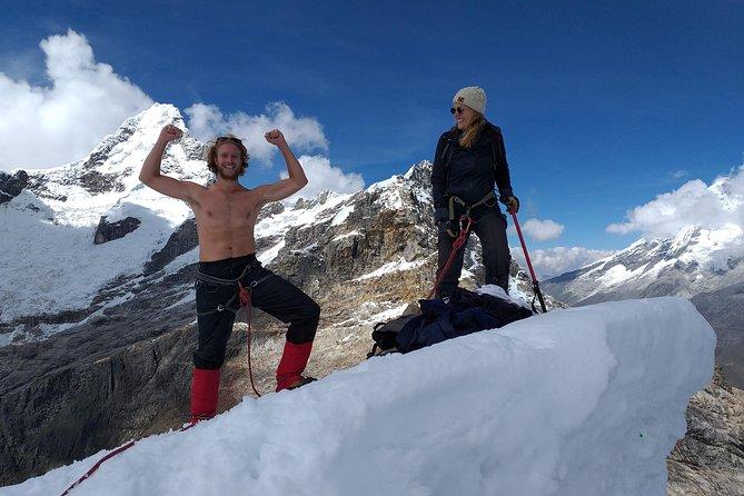 Snowy Matthew your First Summit