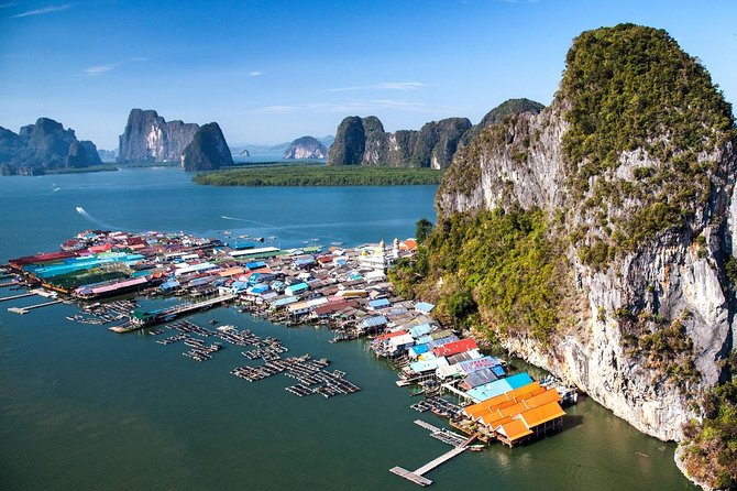 All-Inclusive James Bond, Canoeing and Floating Village Tour By Speedboat