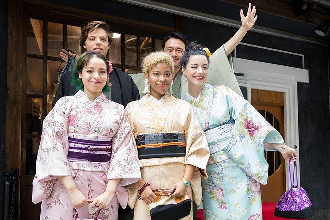 Asakusa Kimono Rental Plan - Choose From a Variety of Beautiful Kimonos