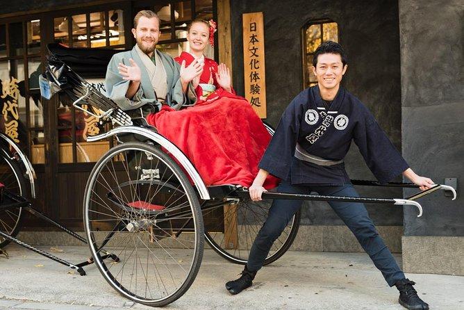 Asakusa Rickshaw Sightseeing Tour