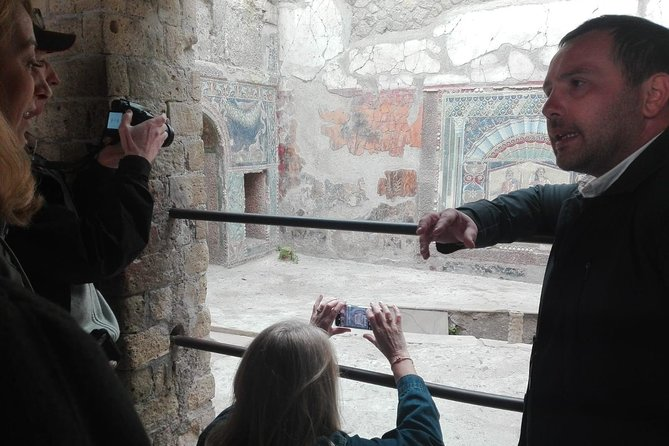Ancient Herculaneum Small group tour with Skip-The-Line Service