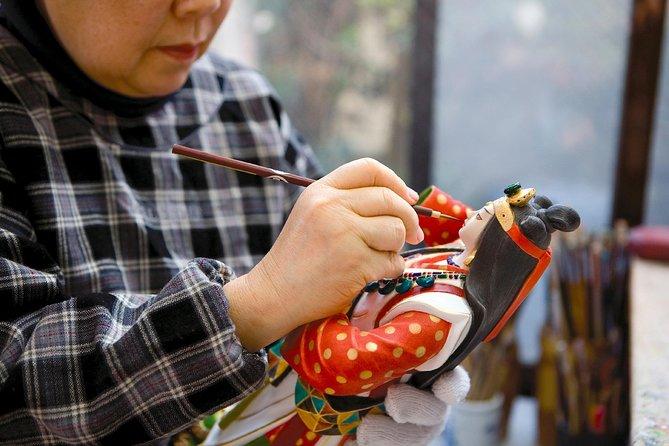 Hakata Doll Colorful Painting