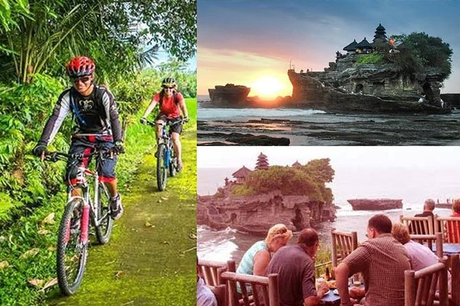TANAH LOT SUNSET CYCLING TOUR with DINNER