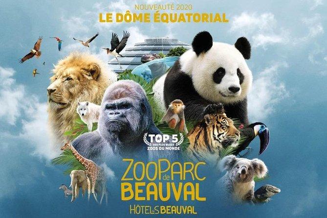 Transfer from Paris Beauvais BVA Airport to ZooParc de Beauval