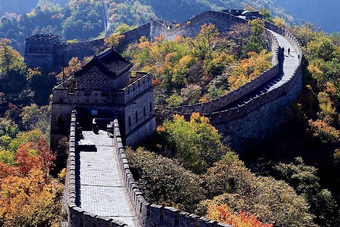 Qingdao Private Day Trip to Mutianyu Great Wall with Cable Car or Toboggan Ride