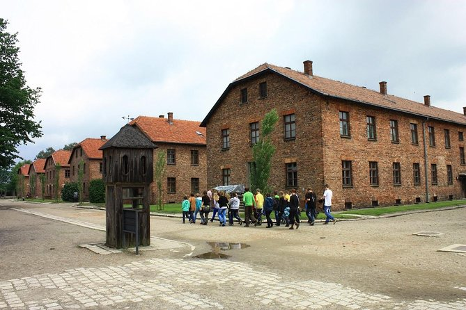 Katowice: Auschwitz and Krakow Old Town Private Guided Tour